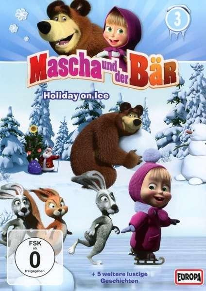 neu dvd mascha und der b r 3 holiday on ice g54984402 888430669192 ebay. Black Bedroom Furniture Sets. Home Design Ideas
